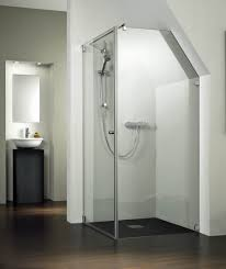 Loft Bathroom Ideas by Frameless Glass Shower Doors Ceiling Bathroom Design Splashy