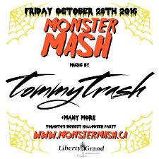 Monster Halloween Ottawa by Friday October 28th Monster Mash 2016 Liberty Grand U2014 Edm Canada