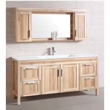 legion furniture vanity with mirror in desert sand wt9388
