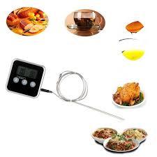 aimant cuisine thermomètre à aliments c f numérique sonde mètre aimant cuisine