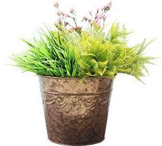 amazon com flower pots planters 10 2 inch indoor and outdoor