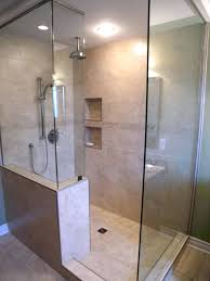 Doorless Shower For Small Bathroom Decoration Doorless Shower Design Ideas
