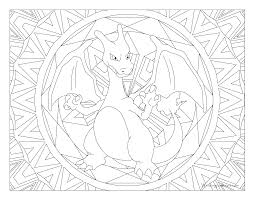 006 charizard pokemon coloring windingpathsart