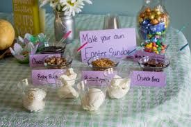 easter table favors easter party ideas with nestle pasta and a tool belt