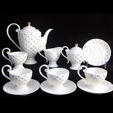 Coffee Set european style tea set bone china coffee set ceramic cup and saucer