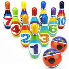 amazon com indoor bowling toys u0026 games