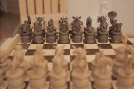Chess Board Amazon This Handmade Pokemon Chess Set Is Absolutely Stunning