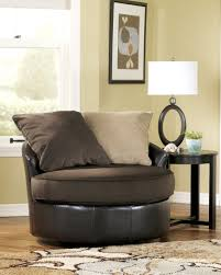 Oversized Round Swivel Chair Fascinating Oversized Round Living - Upholstered swivel living room chairs