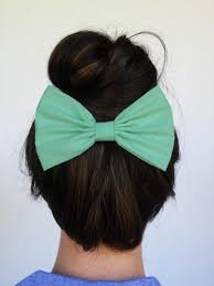 big bows for hair mint hair bow clip mint hair clip big mint by myprettyhairbow on