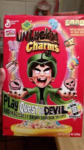 Lucky Charms Meme - my nephew was drawing on a box of lucky charms im not so sure about