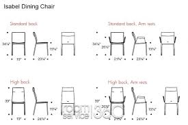 Standard Dining Room Chair Height Dining Room The Dining Table - Dining room chair height