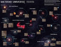 Map Of Universe Metroid Universe By Valigarmander On Deviantart