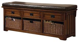 Large Storage Bench Large Storage Bench House Beautiful