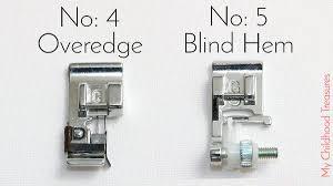 Blind Hem Presser Foot Sewing Machine Feet Guide U2013 10 Best Sewing Machine Feet Treasurie