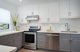 outstanding kitchen cabinets cheap modern grey base cabinet white