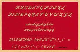 fathers vintage old lettering font by konstantine studio