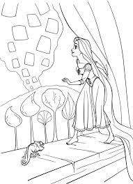 51 color rapunzel images drawings disney