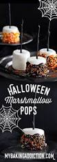 halloween marshmallow pops recipe halloween parties