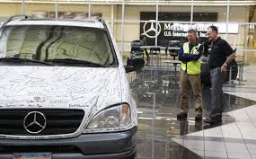 mercedes in tuscaloosa al mercedes marks 20th year since building alabama vehicle