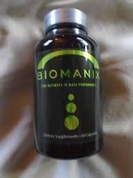 biomanix lo último en rendimiento masculino 60 cápsulas male