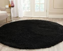 Blue Fuzzy Rug Thick Pile Black Shag Rug California Shags Safavieh Com