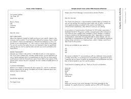 proper standard formal samples of business letter format example