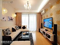 Family Room Ideas With TV Decorating With Wallpaper  OLPOS Design - Wallpaper for family room
