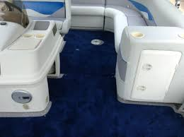 Boat Vinyl Flooring by Snap In Carpet On Site Boat Care