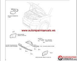 toyota corolla rumion scion xb 2008 service manuals auto
