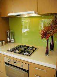 simple backsplash ideas for kitchen creative kitchen backsplash ideas with green wall 3243
