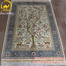 tappeti web 3 3x5ft albero della vita squisita tappeti di seta fatti a mano