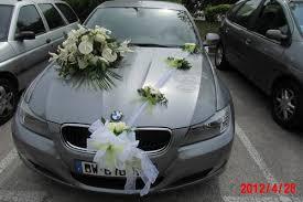 deco mariage voiture decoration mariage bapteme etc voiture mariee coloris vert