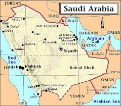 map of tabuk saudi arabia maps