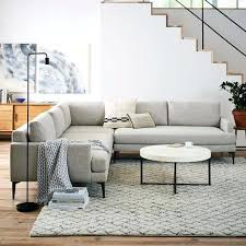 west elm andes sofa review west elm andes sofa l shaped sectional autoinsuranceny club