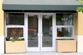 store front glass doors glass aluminum storefront doors u2013 serving the bay area oakland