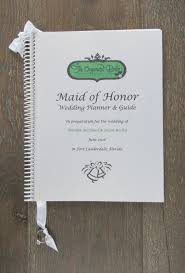 of honor wedding planner book wedding organizer and