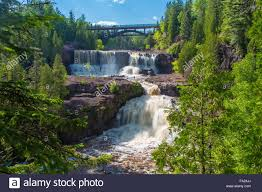 Minnesota waterfalls images Waterfalls on gooseberry river in gooseberry state park on the jpg