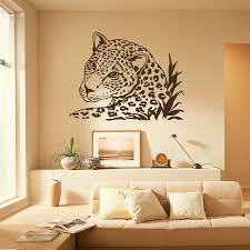 Decoration Cat Wall Decals Home by Wall Decal Leopard Tiger Wild Cat African Animals Safari Vinyl