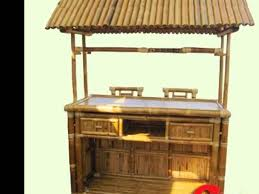 Tiki Outdoor Furniture by Afford A Bar Hut Tropical Tiki Bar Hut For Home Backyard Patio