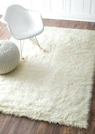 White Fur Area Rug Fur Area Rug Ezpass Club