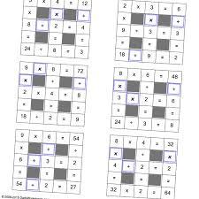 thanksgiving multiplication worksheet math worksheets multiplication and division grid puzzles with