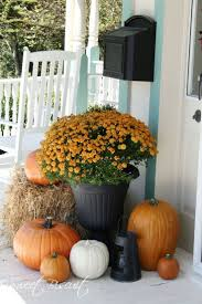 Outdoor Fall Decorations by Best Imaginative Fall Decorating Ideas For Your Por 3771