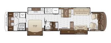 Fifth Wheel Floor Plans Bunkhouse King Aire Floor Plan Options Newmar