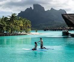 Map Of Bora Bora Four Seasons Resort Bora Bora Voyagez Avec E Tahiti Travel