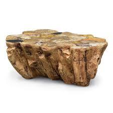 Petrified Wood Bench Palecek