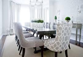 Velvet Wingback Chair Design Ideas Great Gray Velvet Dining Chairs Design Ideas Regarding Gray Velvet