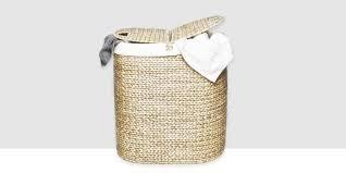 cane laundry hamper 14 best wicker hampers in 2017 decorative woven u0026 wicker laundry