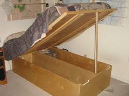 bed frame build your own bed frame with storage 5 gallon bucket