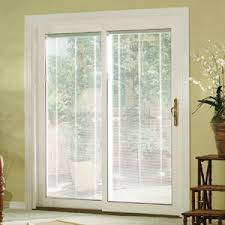 Insulated Blinds For Sliding Glass Doors Patio Doors With Built In Blinds Patio Doors Is A Door The