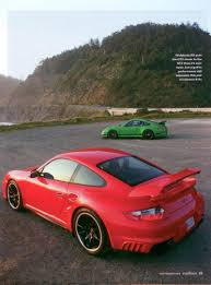 porsche sharkwerks excellence magazine september 2008 sharkwerks gt3 rs vs 997